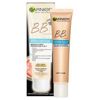 image 2 of Garnier Skin Naturals BB Cream Miracle Skin Perfector 5in1 Light Shade 40ml