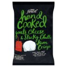 Tesco Finest Goats Cheese & Sicky Chilli Crisps 150g