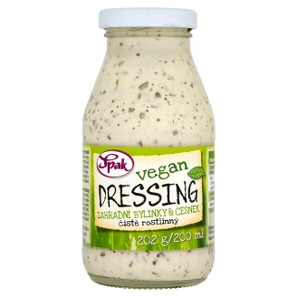Spak Vegan Dressing of Garden Herbs and Garlic 200ml