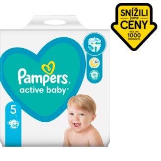 Pampers Active Baby Velikost 5, 64 Plenek, 11–16kg