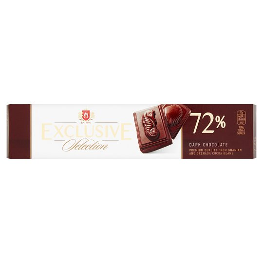 Taitau Exclusive Selection Dark Chocolate 72% 50g