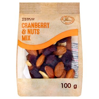 Tesco Cranberry & Nuts Mix 100g