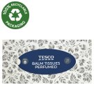 Tesco Tissues with Balsam Perfumed 4 Ply 100 pcs