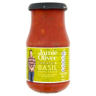 Jamie Oliver Omáčka na těstoviny rajčata a bazalka 400g