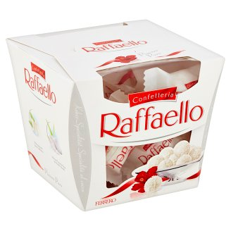 Ferrero Raffaello Wafer Filled with Whole Almonds and Garnished with Grated Coconut 150g