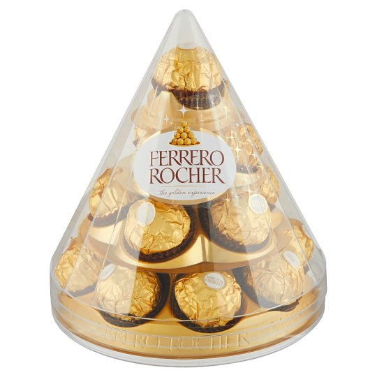 Ferrero Rocher Wafers Coated with Milk Chocolate and Crushed Hazelnuts 212.5g