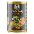 Kaiser Franz Josef Exclusive Green Olives in Salted Brine Stuffed with Salmon Paste 300g