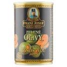 Kaiser Franz Josef Exclusive Zelené olivy ve slaném nálevu plněné lososovou pastou 300g