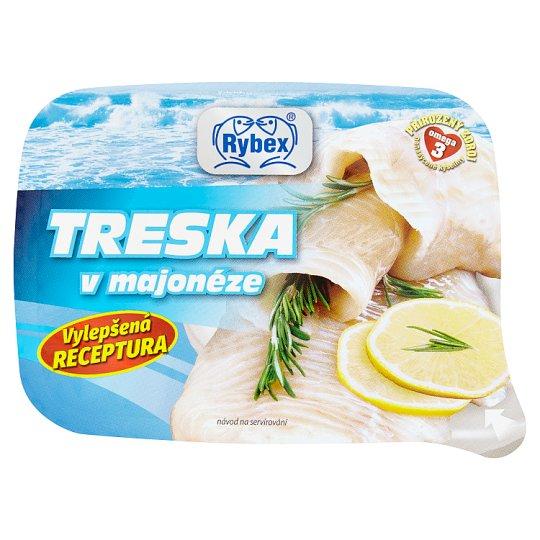 Rybex Treska v majonéze 150g