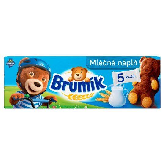 Opavia Brumík Milk Filling 5 pcs 150g