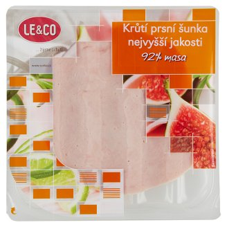 Le & Co Turkey Breast Ham Highest Quality 100g