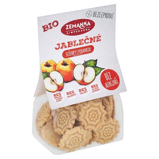 Biopekárna Zemanka Gluten-Free Organic Apple-Buckwheat Biscuits 100g