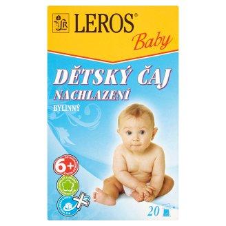 Leros Baby Dětský čaj nachlazení bylinný 20 x 2g