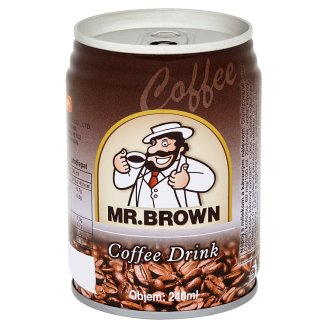 Mr. Brown Nápoj s mlékem a kávovým nálevem 240ml