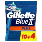 Gillette BlueII Plus Men's Disposable Razors x14