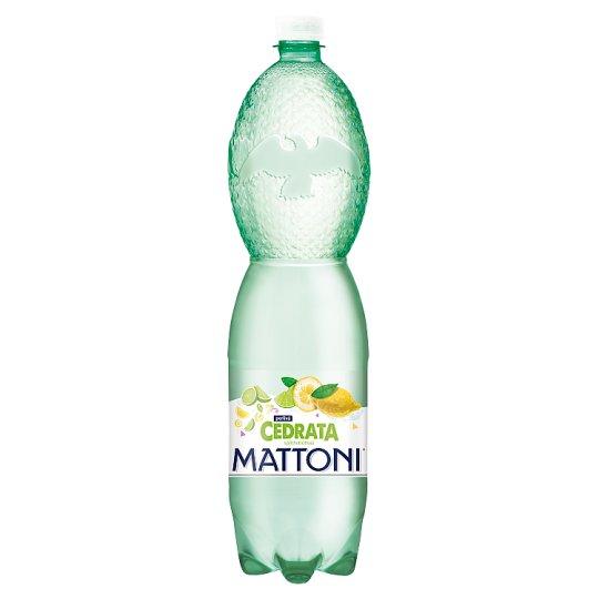 Mattoni Cedrata s příchutí citrusů perlivá 1,5l