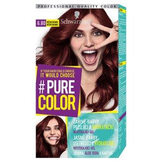 Schwarzkopf Pure Color barva na vlasy Růžová Brownie 6.80