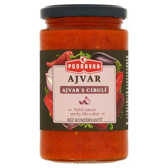 Podravka Ajvar premium s cibulí 350g