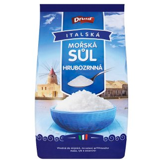 Druid Italian Sea Salt Coarse-Grained 1000g