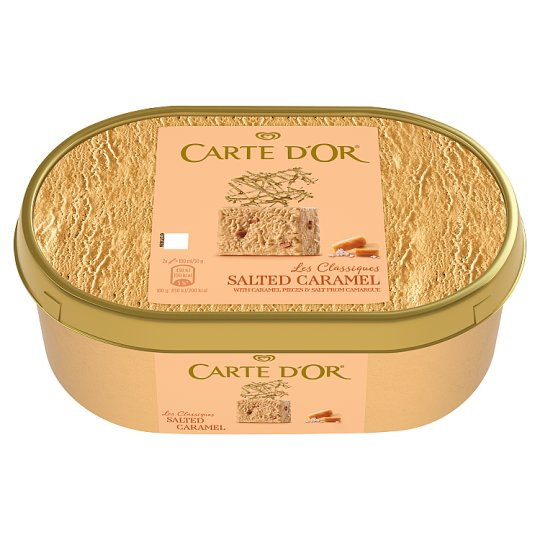 Carte d'Or Salted Caramel mražený krém 1000ml