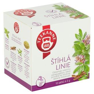 TEEKANNE Slim Line, Herbal Mixture, 10 Tea Bags, 20g
