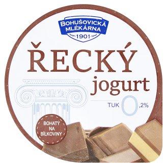 Bohušovická mlékárna Řecký jogurt čoko-nugátový 130g