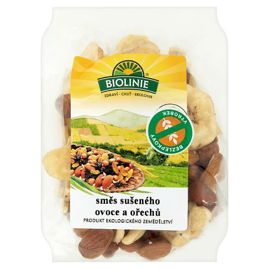 Biolinie Mix of Dry Fruits and Nuts 125g