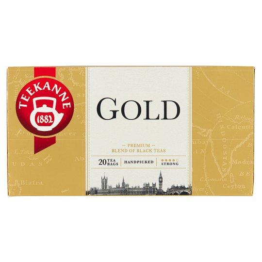 TEEKANNE Gold černý čaj, 20 sáčků, 40g