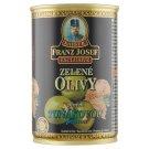 Kaiser Franz Josef Exclusive Zelené olivy ve slaném nálevu plněné tuňákovou pastou 300g