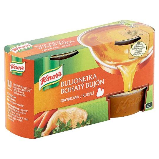 Knorr Bohatý Bujón Kuřecí 6 x 28g