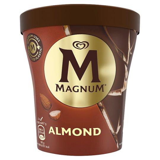 Magnum Almond zmrzlina v kelímku 440ml
