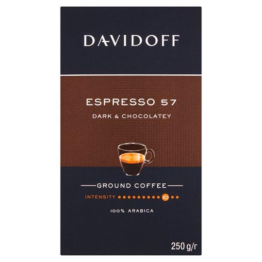Davidoff Espresso 57 Intense pražená mletá káva 250g