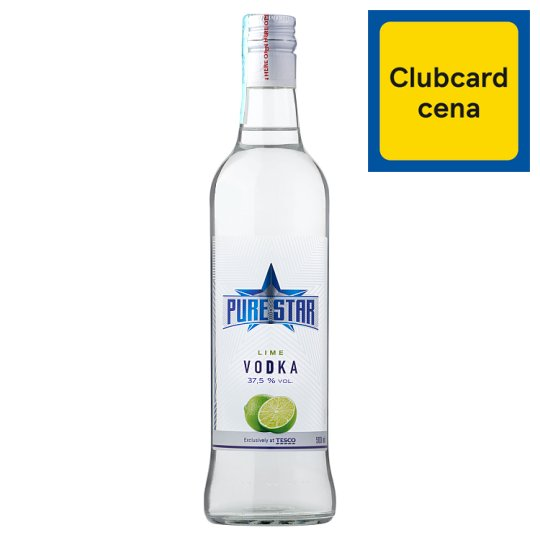 Pure Star Lime Vodka 500ml