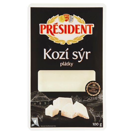 Président Goat's Cheese Slices 100g
