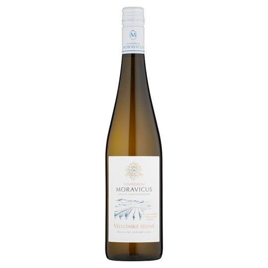 Vinitorum Moravicus Veltlínské zelené moravské zemské víno suché 0,75l