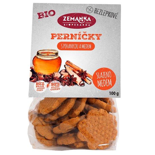 Biopekárna Zemanka Gluten-Free Buckwheat Bio Gingerbread 100g