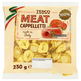 Tesco Egg Pasta Filled with Pork and Beef, Sausage and Raw Ham 250g