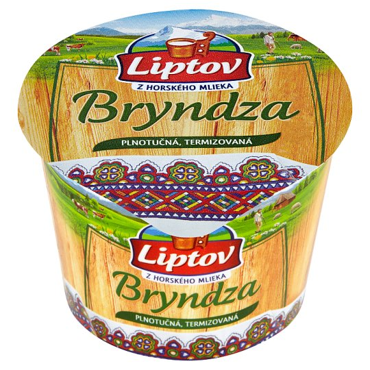 Liptov Bryndza Full Fat Thermised Cheese 100g