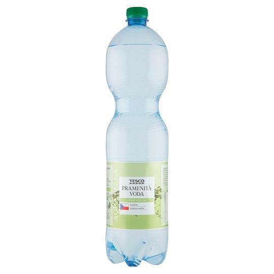 Tesco Aqua Bella pramenitá voda jemně perlivá 1,5l