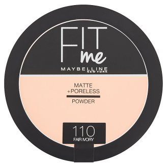 Maybelline New York Fit Me Matte + Poreless 110 Fair Ivory pudr 14g