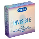 Durex Extra Invisible Ultra Thin Lubricated Condoms 3 pcs