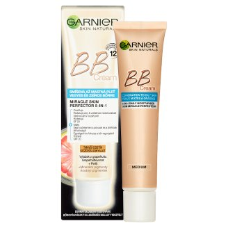 image 2 of Garnier Skin Naturals BB Cream Miracle Skin Perfector 5in1 Darker Shade 40ml