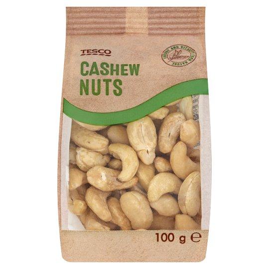 Tesco Kešu ořechy jádra 100g