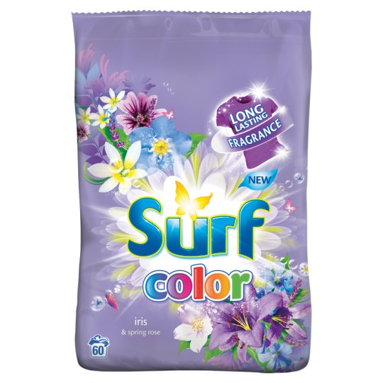Surf Color Iris Powder Detergent for Coloured Laundry 60 Washes