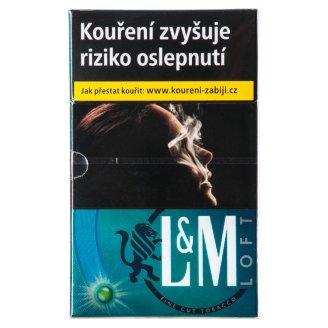 L&M Loft 2 in 1 cigarety s filtrem 20 ks