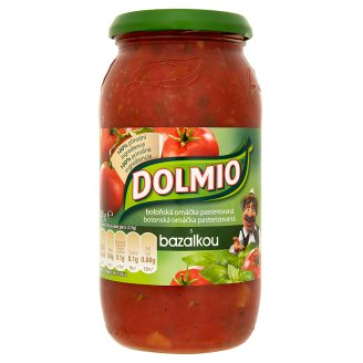 Dolmio Bolognese Sauce Pasteurized with Basil 500g