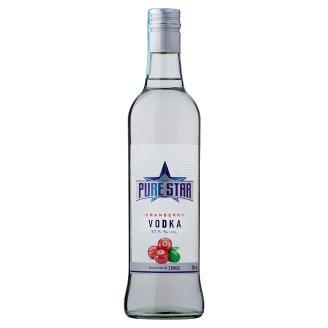 Pure Star Brusinková vodka 500ml
