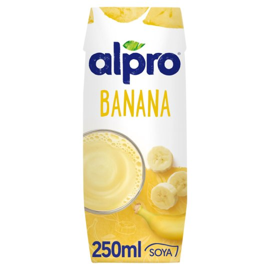Alpro Sójový nápoj s banánovou šťávou 250ml