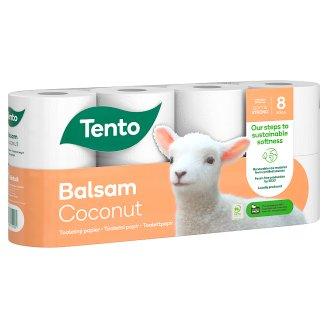 Tento Sensitive Coconut Milk Toilet Paper 8 Rolls