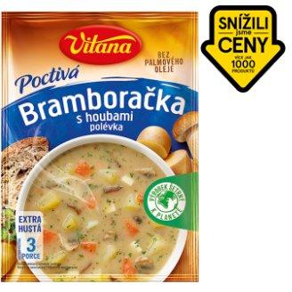 Vitana Poctivá polévka Bramboračka s houbami 100g
